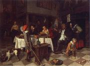 Jan Steen Twelfth Night oil painting picture wholesale