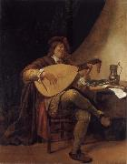 Jan Steen Self-Portrait as a lutenist oil painting picture wholesale