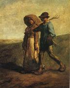 Jean Francois Millet Going to work oil painting picture wholesale