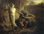 Jean Francois Millet Death and the woodcutter oil painting picture wholesale