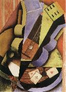 Juan Gris Three Playing card oil painting picture wholesale