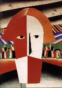 Kasimir Malevich Peasant-s head oil painting picture wholesale