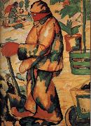 Kasimir Malevich Gardener oil painting picture wholesale