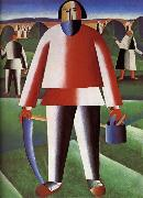 Kasimir Malevich Cut Grazing-s People oil painting picture wholesale