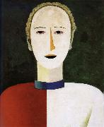 Kasimir Malevich Head of female oil painting picture wholesale