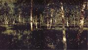 Levitan, Isaak Silver birch oil painting picture wholesale