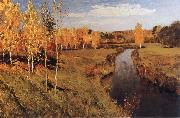 Levitan, Isaak Golden Autumn oil painting picture wholesale