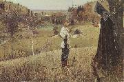 Mikhail Nesterov The Vision of the Boy Bartholomew oil painting artist