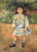 Pierre Auguste Renoir Child with a Whip oil painting artist