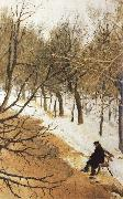 Vasily Surikov Boulevard Zubov in Winter oil painting picture wholesale
