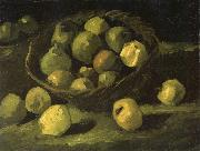 Vincent Van Gogh Still life with Basket of Apples (nn04) Germany oil painting reproduction