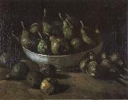 Vincent Van Gogh Still life with an Earthen Bowl and Pears (nn04) Germany oil painting reproduction