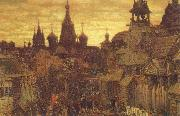 unknow artist The Old Moscow a street in Kitai-Gorod in the 17th century oil painting picture wholesale