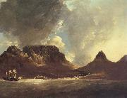 unknow artist A View of the Cape of Good Hope,taken on the spot,from on board the Resolution,capt,coode,November 1772 oil painting picture wholesale