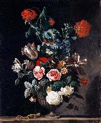 Abraham jansz.begeyn Flowers in a Stone Vase oil painting picture wholesale