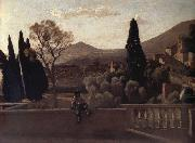 Corot Camille Tivoli The gardens of the village oil painting picture wholesale