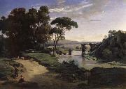 Corot Camille The bridge of Narni. oil painting picture wholesale