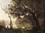 Corot Camille I remember of Mortefontaine oil