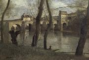 Corot Camille The bridge of Mantes oil painting picture wholesale