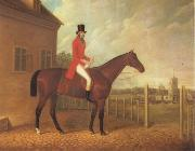 David Dalby Lord Bolton on a Bay Hunter oil painting picture wholesale