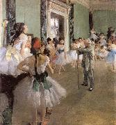 Edgar Degas Dance oil painting picture wholesale