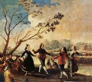 Francisco Goya Danching by the River Manzanares oil painting picture wholesale