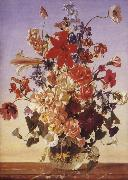 Franz Wolf Summer Bouquet oil painting picture wholesale