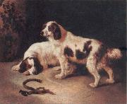 George Horlor Brittany Spaniels oil painting picture wholesale