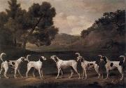 George Stubbs Foxhounds in a Landscape oil painting picture wholesale