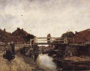 Jacobus Hendrikus Maris The Bridge oil painting picture wholesale