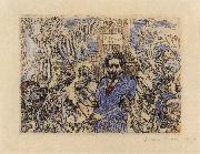 James Ensor Demons Tormenting me oil painting picture wholesale
