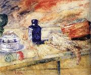 James Ensor The Blue Flacon Germany oil painting reproduction