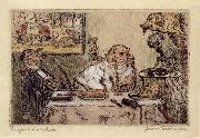 James Ensor Gluttony oil painting picture wholesale