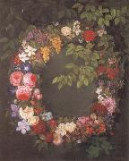 Jensen Johan Garland of flowers oil painting picture wholesale