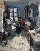 Konstantin Korovin In the room Germany oil painting reproduction