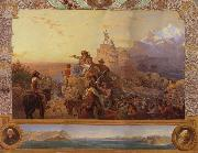 Leutze, Emmanuel Gottlieb Westward the Course of  Empire Take its Way oil painting picture wholesale