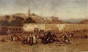 Louis Comfort Tiffany Market Day Outside the Walls of Tangiers oil painting picture wholesale