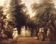 Thomas Gainsborough The Mall in St.James-s Park oil painting picture wholesale
