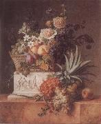 Willem Van Leen Pineapple Jardiniere oil painting picture wholesale