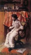 William Merritt Chase In the  Studio oil painting picture wholesale