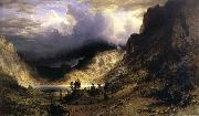Albert Bierstadt A Storm in t he Rocky Mountains,Mt,Rosalie oil painting picture wholesale