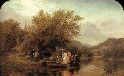 Albert Fitch Bellows Life-s Day or Three Times Across the River oil painting picture wholesale