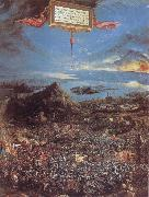 Albrecht Altdorfer The Battle at the Issus oil