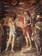 Andrea Mantegna Would baptize Christs oil