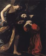 CRESPI, Giovanni Battista THE agony of Christ oil