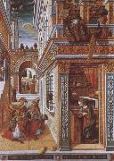 Carlo Crivelli Annunciation with St. Endimius oil painting picture wholesale