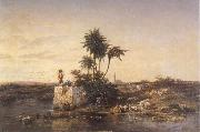 Charles Tournemine Recollection of Asia Minor oil painting