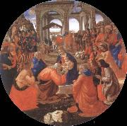 Domenico Ghirlandaio Adoration of the Magi oil painting picture wholesale