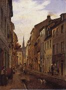 Eduard Gaertner Parochialstrabe oil painting picture wholesale