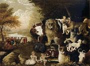 Edward Hicks The Peaceable Kingdom oil